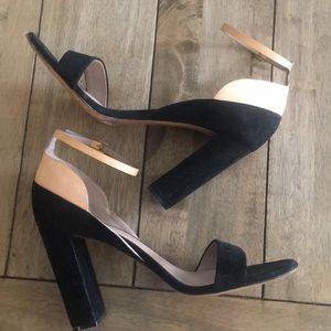 Chloe Black & Nude heels size 38